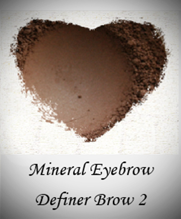 3 in 1 Mineral Eyebrow, Eye Shadow and Eyeliner , Brush sold separately